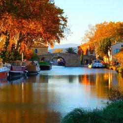 Plezierhaventje Le Somail aan het Canal du Midi
