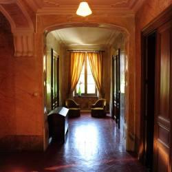 Hallway on the first floor