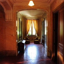 Hallway on the first floor