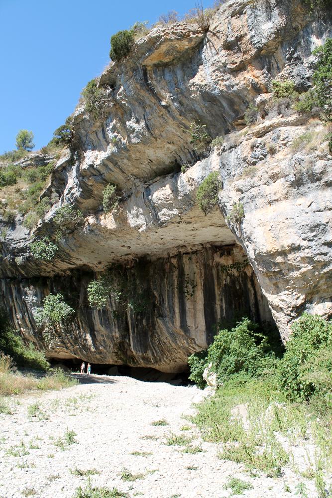 ingang-pont-naturel-Minerve-Hérault