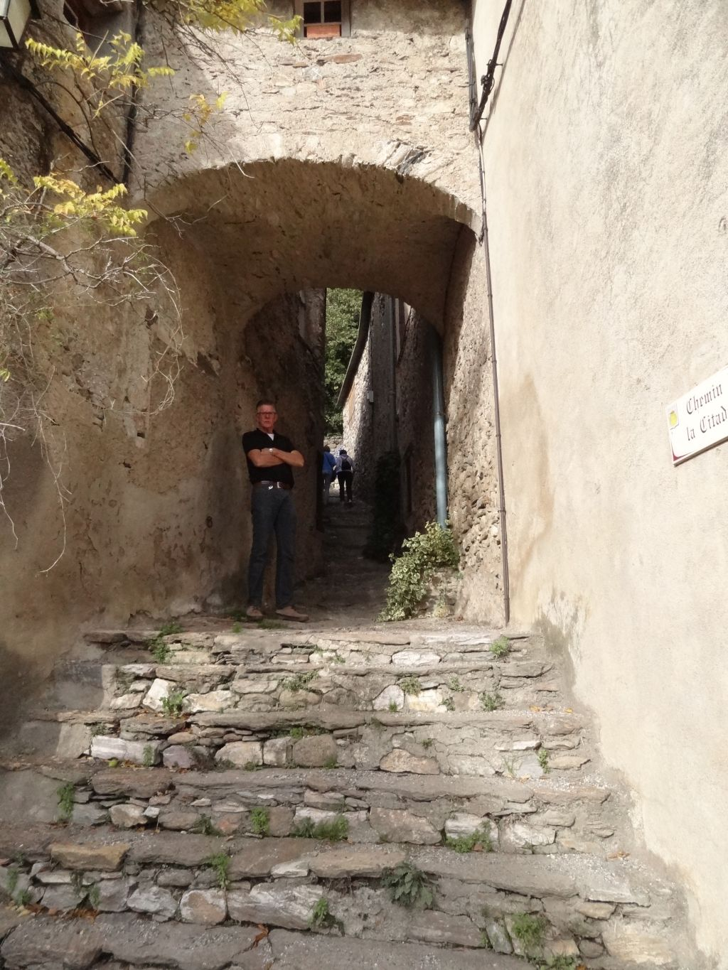 pittoresk-straatje-Olargues-Hérault