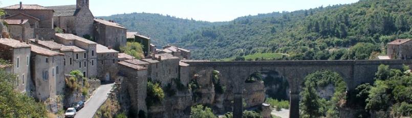 Minerve, geklasseerd als een van de mooiste dorpjes van Frankrijk