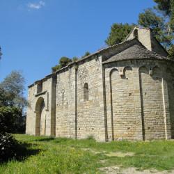 La chapelle romane Saint Germain de Cesseras